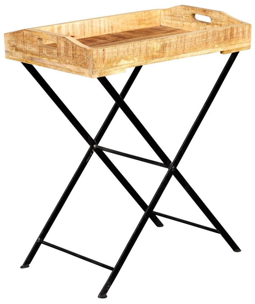 Indian Hub Cosmo Industrial Tray with Stand