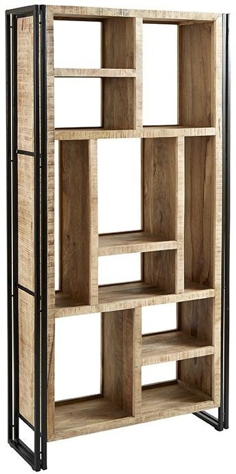 Indian Hub Cosmo Industrial Bookcase