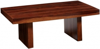 Indian Hub Cube Sheesham Block Indian Coffee Table