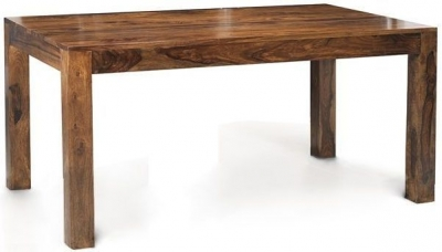 Indian Hub Cube Sheesham Dining Table