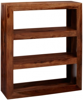 Indian Hub Cube Sheesham Multi Shelf Unit