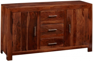 Indian Hub Cube Sheesham Sideboard - Large