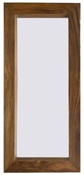 Indian Hub Cube Sheesham Mirror