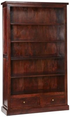 Indian Hub Jaipur Dark Mango Bookcase