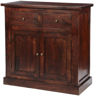 Indian Hub Jaipur Dark Mango Sideboard - 2 Door