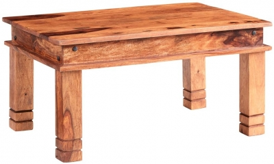 Indian Hub Jali Sheesham Thakhat Coffee Table