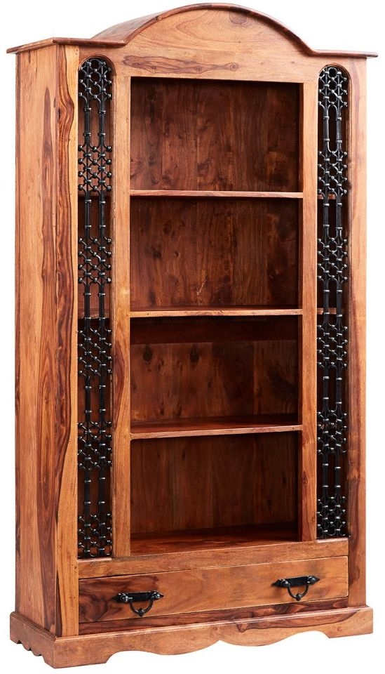 Indian Hub Jali Sheesham Bookcase