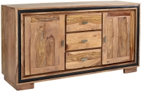 Indian Hub Jodhpur Sheesham 2 Door 3 Drawer Sideboard