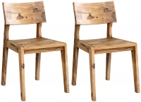 Indian Hub Jodhpur Sheesham Dining Chair (Pair)