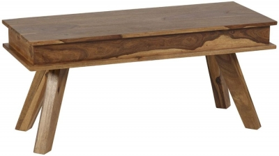Indian Hub Jodhpur Sheesham Dining Bench