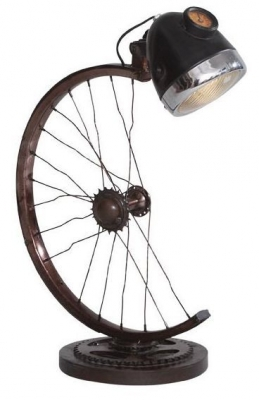 Indian Hub Half Cycle Wheel Lamp