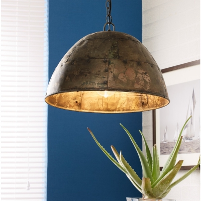 Indian Hub Iron Metalic Hanging Lamp