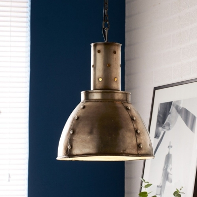 Indian Hub Metallic Hanging Lamp
