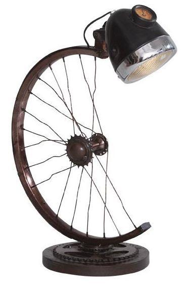 Indian Hub Half Cycle Wheel Lamp