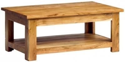 Indian Hub Metro Acacia Coffee Table