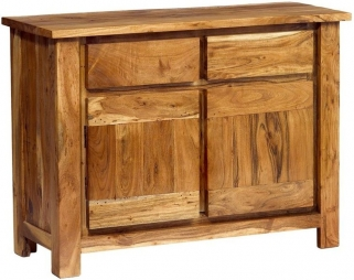 Indian Hub Metro Acacia Sideboard - 2 Doors 2 Drawers