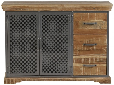Indian Hub Metropolis Industrial Large Sideboard