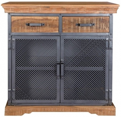 Indian Hub Metropolis Industrial Medium Sideboard