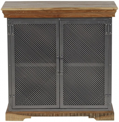 Indian Hub Metropolis Industrial Small Sideboard