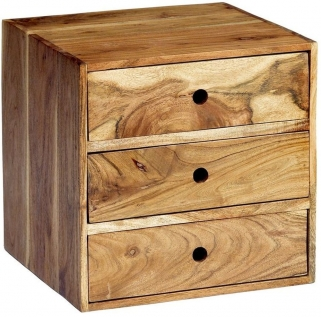 Indian Hub Octane Acacia Interchangeable Drawer Box