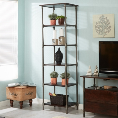 Indian Hub Santara Narrow Bookcase