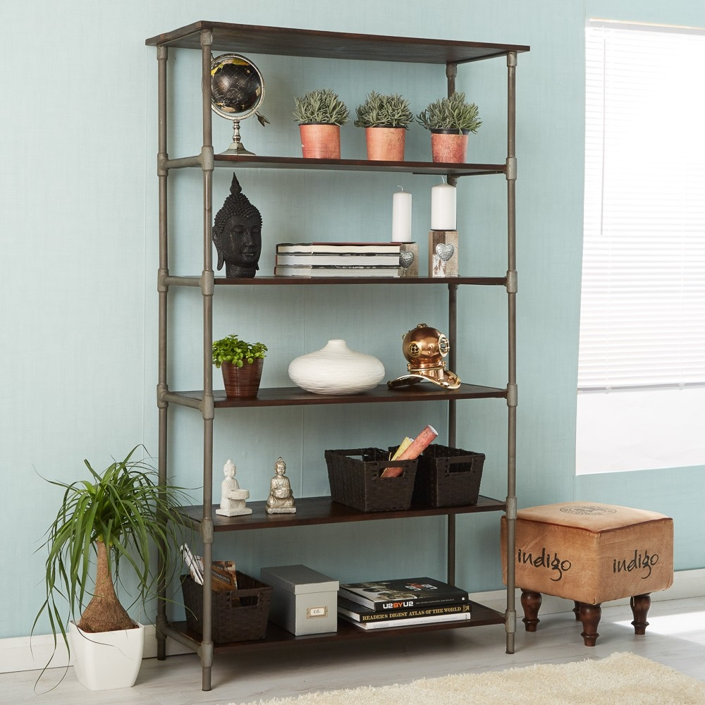 Indian Hub Santara Wide Bookcase
