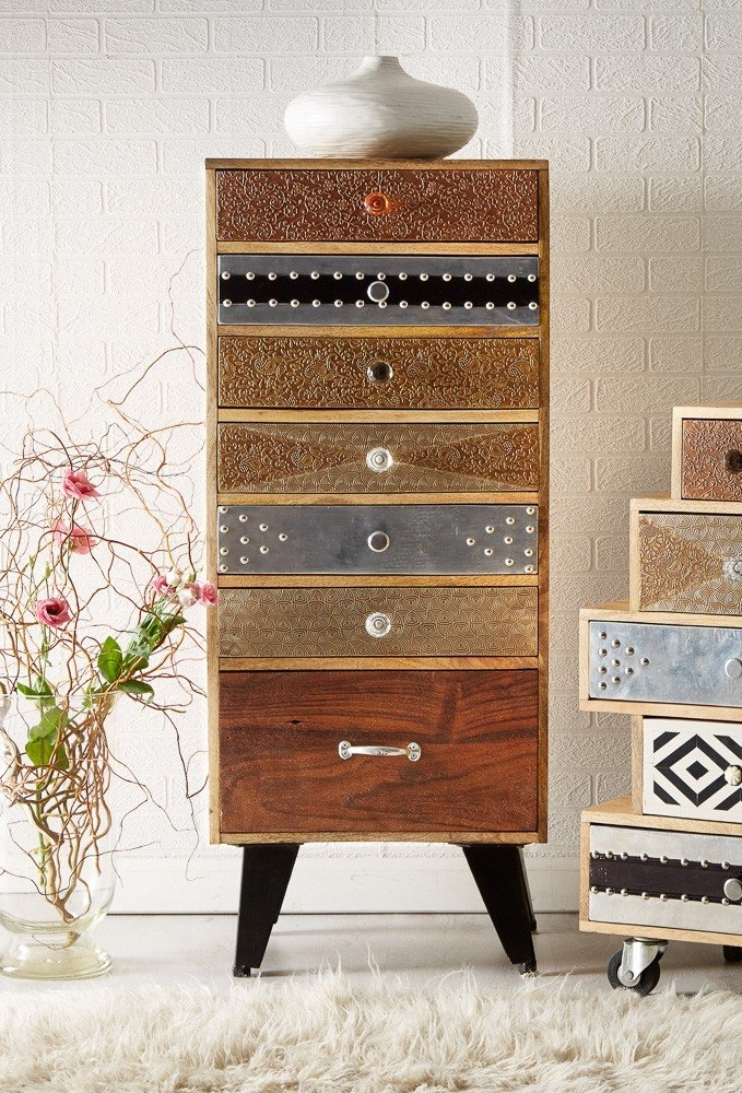 Indian Hub Sorio 7 Chest of Drawer