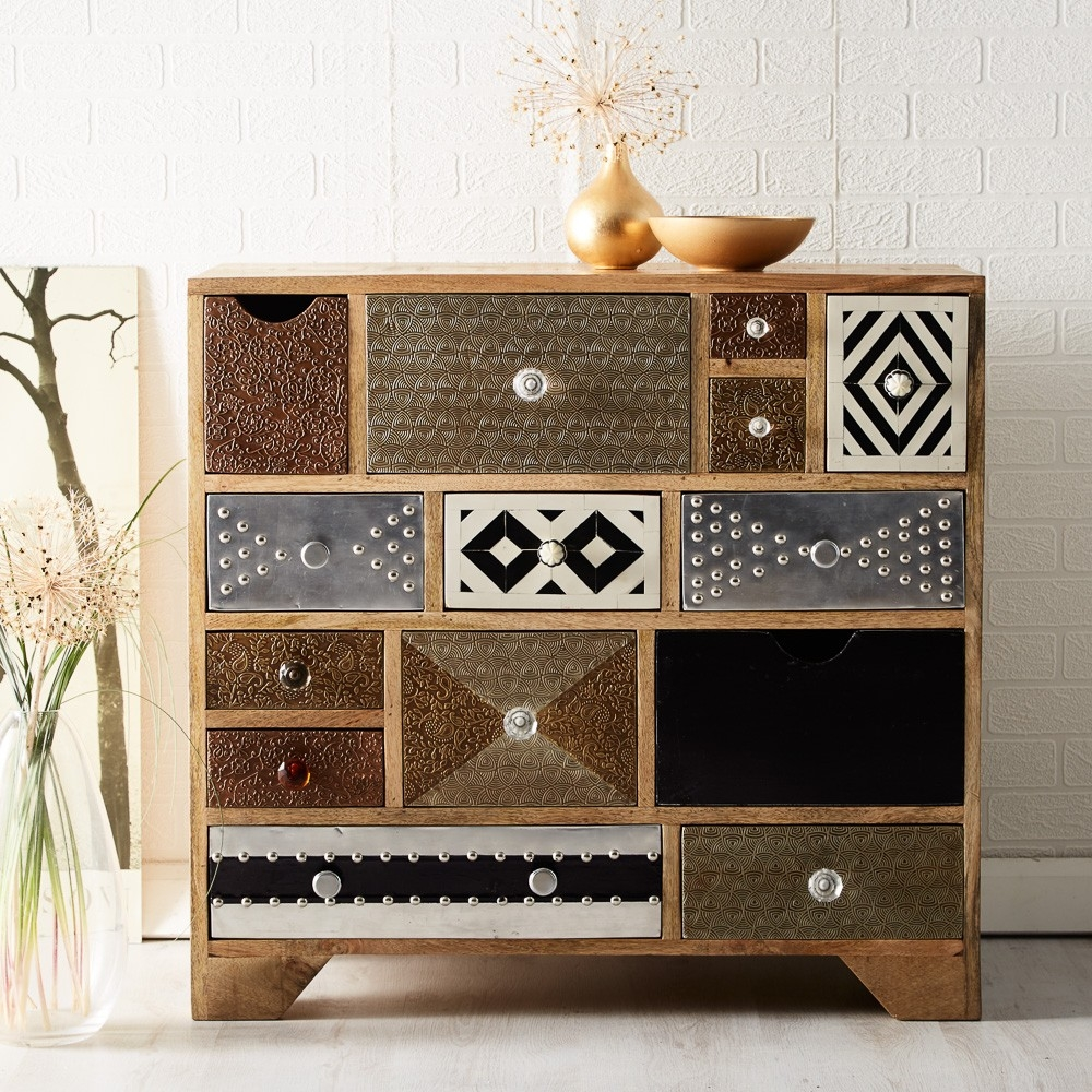 Indian Hub Sorio Multiple Chest of Drawer