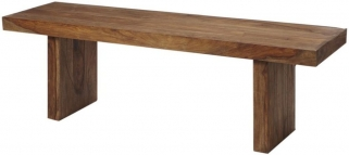 Indian Hub Stone Sheesham Bench