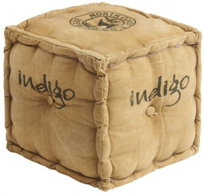 Indian Hub Stool Square Seeba Stool