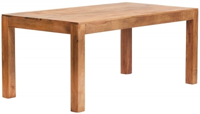 Indian Hub Toko Light Mango Large Dining Table