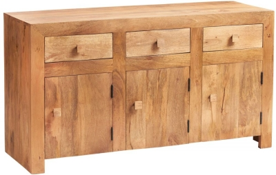 Indian Hub Toko Light Mango Large Sideboard