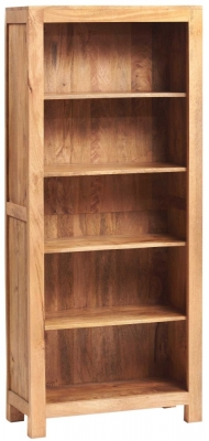 Indian Hub Toko Light Mango Open Large Bookcase