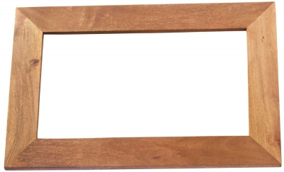 Indian Hub Toko Light Mango Solid Wood Frame Mirror