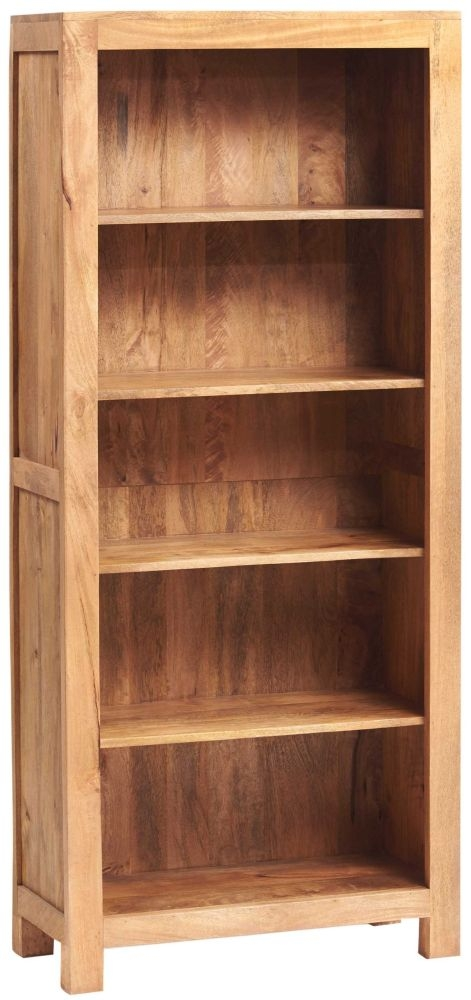 Indian Hub Toko Light Mango Open Large Bookcase