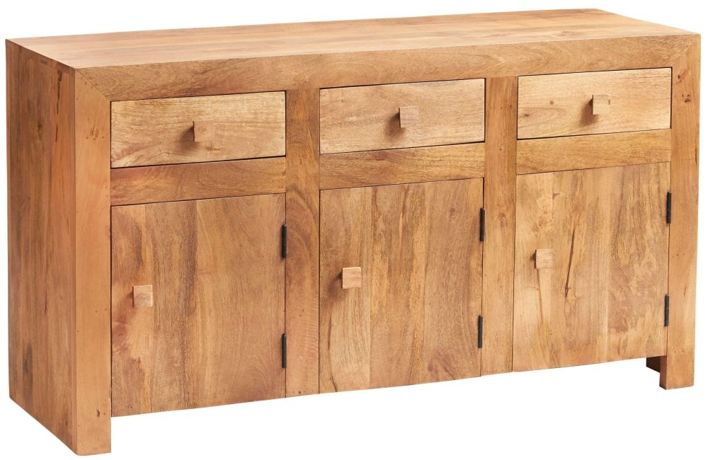 Indian Hub Toko Light Mango Medium Sideboard