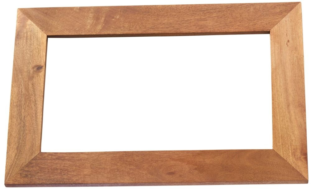Indian Hub Toko Light Mango Solid Wood Frame Mirror