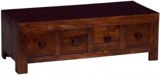 Indian Hub Toko Mango Coffee Table - 8 Drawer