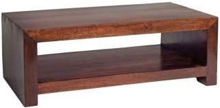 Indian Hub Toko Mango Coffee Table - Contemporary Large