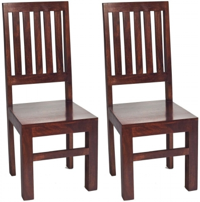 Indian Hub Toko Mango Dining Chair (Pair)