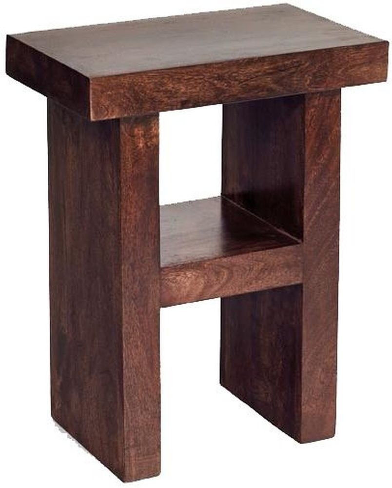 Indian Hub Toko Mango Corner Table - H Shape