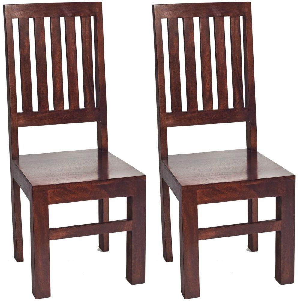 Indian Hub Toko Mango Dining Chair (Pair)