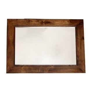Indian Hub Toko Mango Rectangular Mirror - 90cm x 60cm