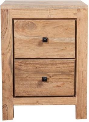 Indus Valley Harley Solid Acacia Bedside Cabinet