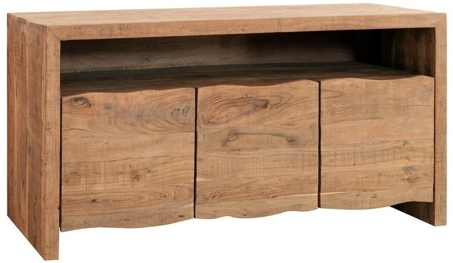 Indus Valley Live Edge Sideboard - Solid Acacia Wood