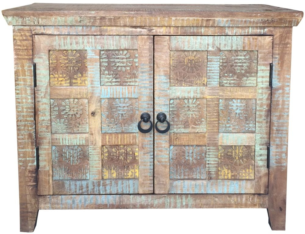 Jaipur Aravali Mango Wood 2 Door Small Sideboard