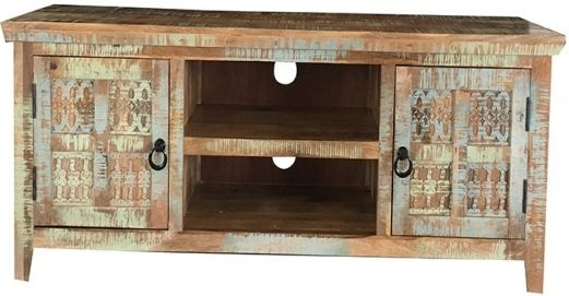 Jaipur Aravali Mango Wood 2 Door Plazma TV Cabinet