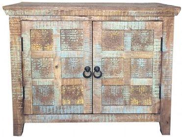 Jaipur Aravali Mango Wood 2 Door Narrow Sideboard