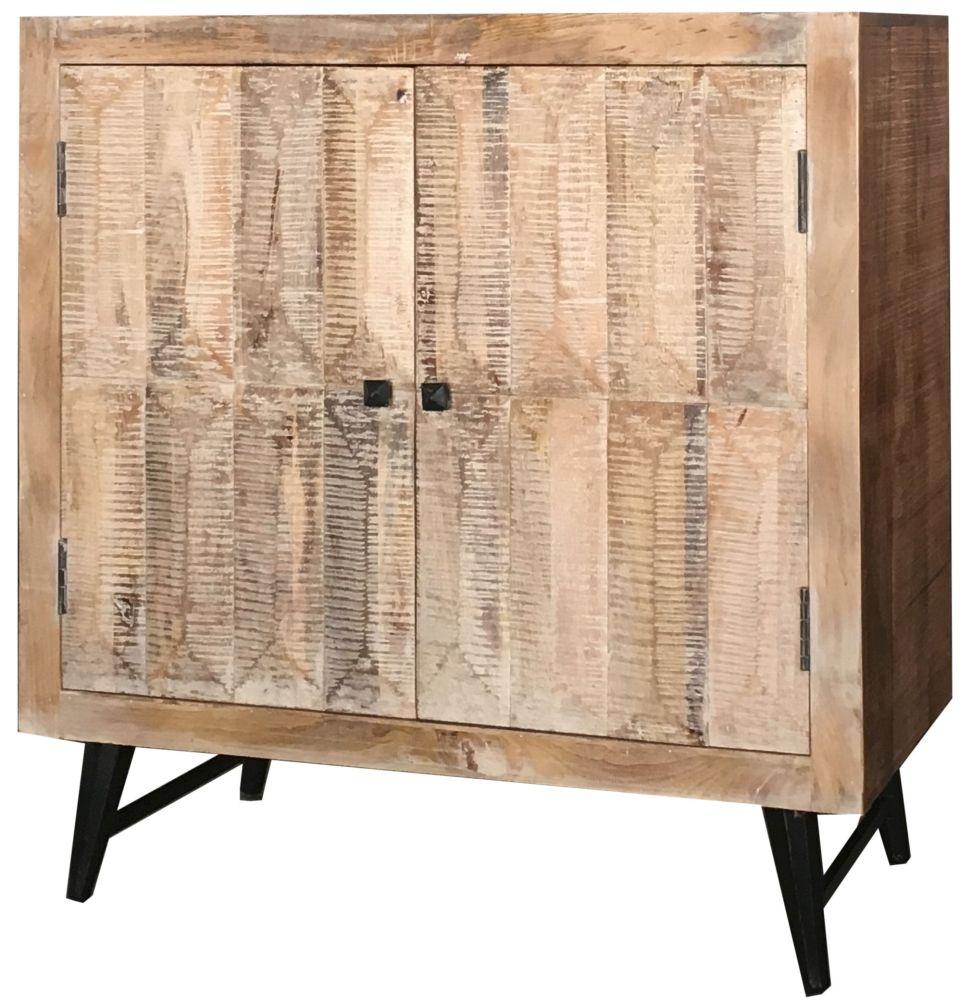Jaipur Buddha Sideboard - Wood and Iron