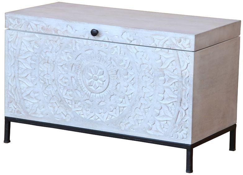 Jaipur Chennai Mango Wood and Metal Box